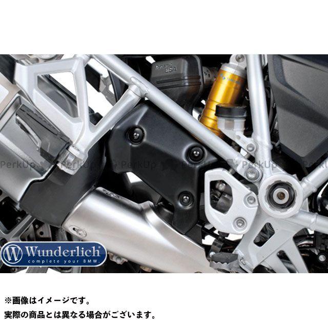 ワンダーリッヒ R1200GS マフラーカバー・ヒートガード ヒールヒートガード BMW R1200GSLC(13-)/(ブラック)