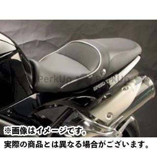サージェント スピードトリプル シート関連パーツ シート パイピング:メタリックシルバーウエルト