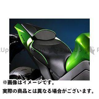 サージェント ニンジャ1000・Z1000SX Z1000 シート関連パーツ レギュラーフロントシート(A-066 ブライトレッド) H-066 ライムグリーン