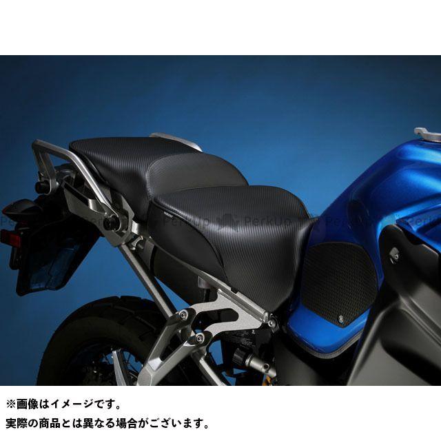 サージェント XT1200Zスーパーテネレ シート EUレギュラーフロント&リアシート カラー:パイピング:ブラック Sargent