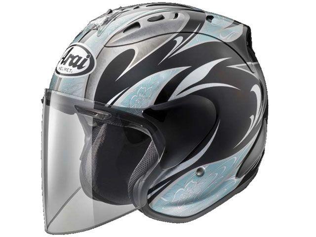 送料無料 アライ ヘルメット Arai ジェットヘルメット SZ-Ram4 Karen ブラック/ブルー 59-60cm