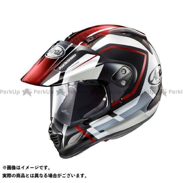 送料無料 アライ ヘルメット Arai オフロードヘルメット TOUR CROSS 3 DETOUR(ツアークロス3・デツアー) レッド 54cm