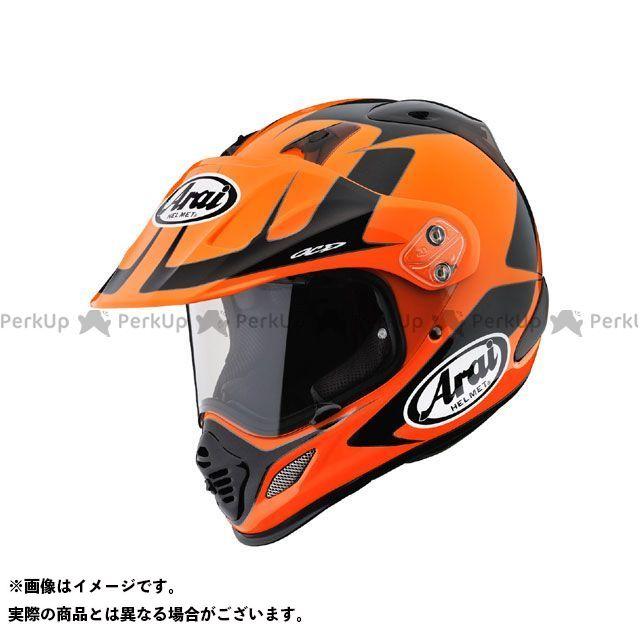 送料無料 アライ ヘルメット Arai オフロードヘルメット 【東単オリジナル】 TOUR CROSS 3 EXPLORER(ツアークロス3 エクスプローラ) オレンジ 61-62cm