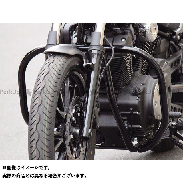 キジマ ボルト メッキデコレーションバンパー(スチール製/ブラック) KIJIMA
