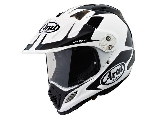 送料無料 アライ ヘルメット Arai オフロードヘルメット 【東単オリジナル】 TOUR CROSS 3 EXPLORER(ツアークロス3 エクスプローラ) ホワイト 55-56cm