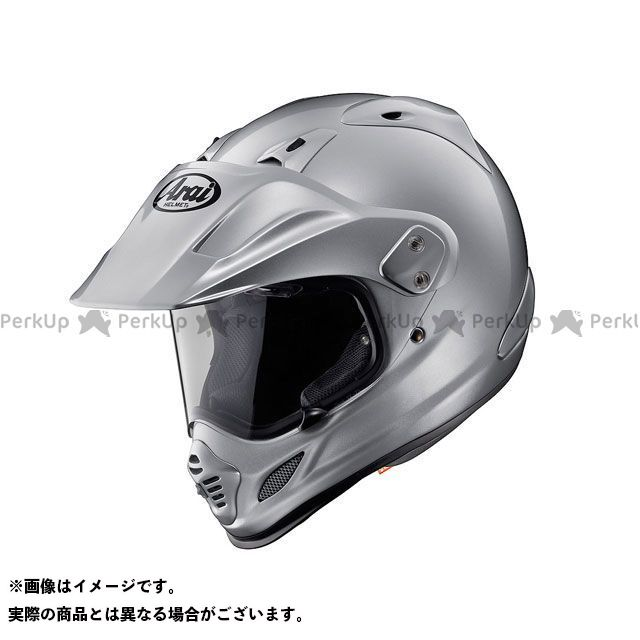 送料無料 アライ ヘルメット Arai オフロードヘルメット TOUR CROSS 3(ツアークロス3) アルミナシルバー 55-56cm