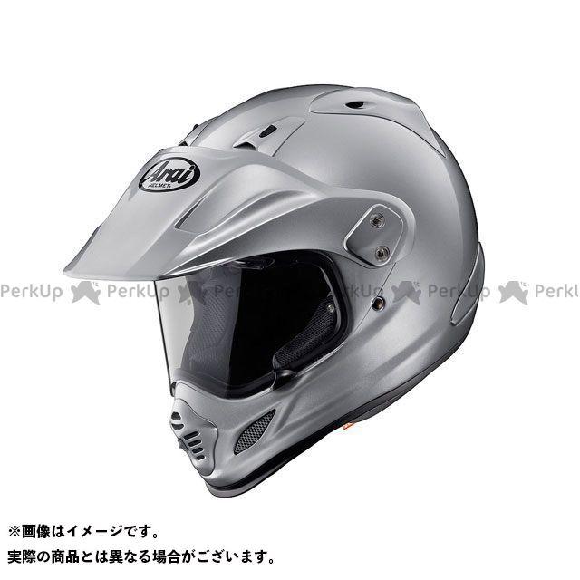 送料無料 アライ ヘルメット Arai オフロードヘルメット TOUR CROSS 3(ツアークロス3) アルミナシルバー 59-60cm