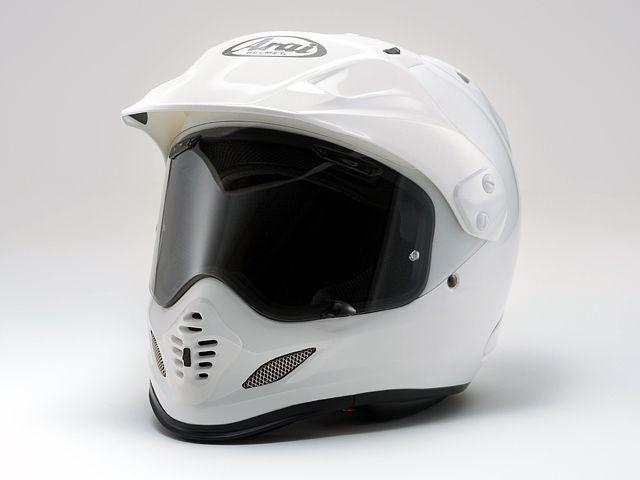 送料無料 アライ ヘルメット Arai オフロードヘルメット TOUR CROSS 3(ツアークロス3) グラスホワイト 61-62cm