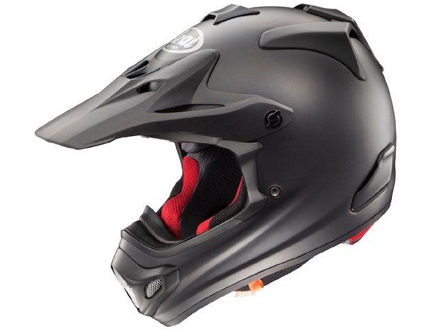 送料無料 アライ ヘルメット Arai オフロードヘルメット V-CROSS 4(V-クロス4) フラットブラック 55-56cm