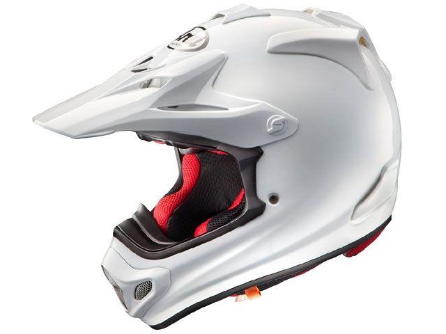 送料無料 アライ ヘルメット Arai オフロードヘルメット V-CROSS 4(V-クロス4) ホワイト 55-56cm
