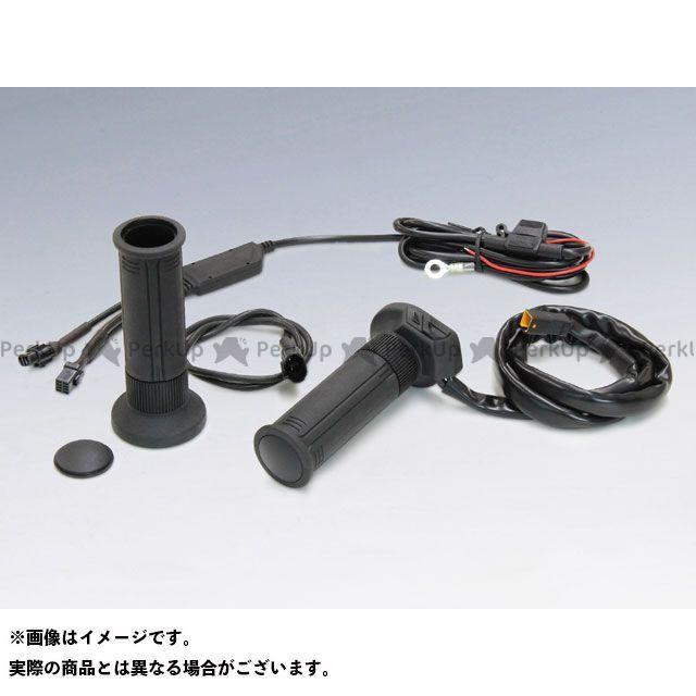 キジマ 汎用 グリップヒーター GH07 スイッチ一体式 標準ハンドル用(22.2mm) グリップ長:120mm メーカー在庫あり KIJIMA