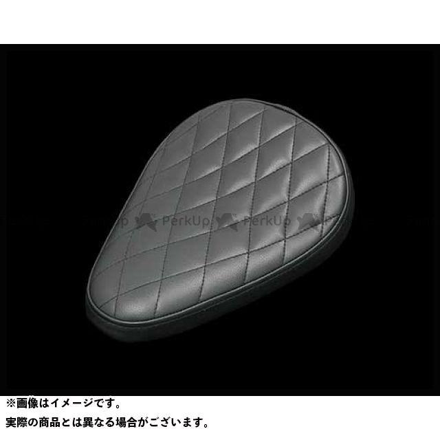 ネオファクトリー ハーレー汎用 ダイアモンドソロシート ブラック 仕様:ウォール有り ネオファク