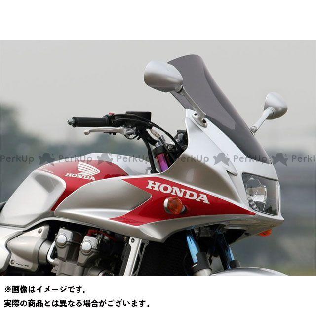 【エントリーで最大P21倍】アールズギア CB1300スーパーボルドール CB1300スーパーツーリング CB400スーパーボルドール ワイバン エアロコンフォートスクリーン カラー:スモーク R's GEAR