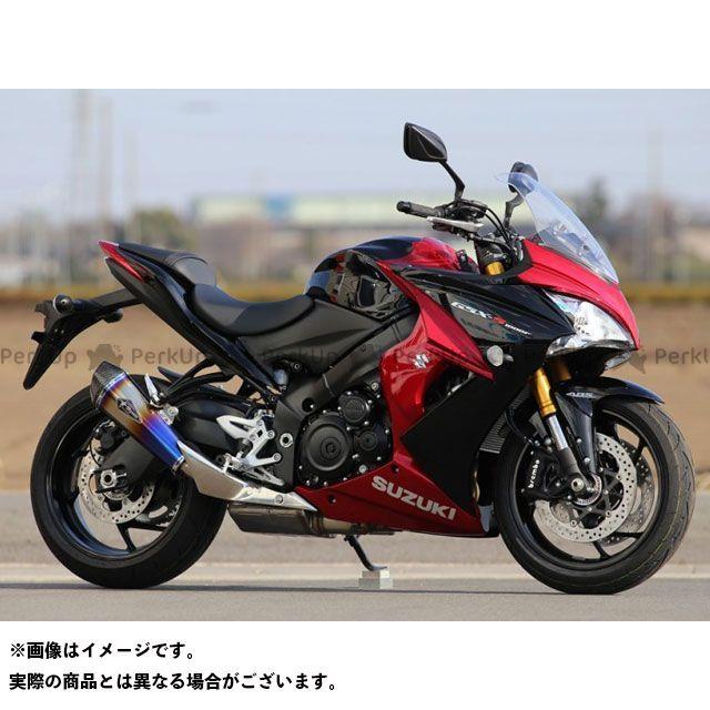 【無料雑誌付き】アールズギア GSX-S1000 GSX-S1000F ワイバンリアルスペック スリップオン サイレンサー:チタンドラッグブルー R's GEAR