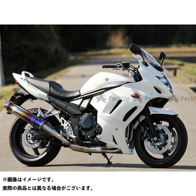 アールズギア バンディット1250 バンディット1250F バンディット1250S ソニック スリップオン サイレンサー:チタン R's GEAR