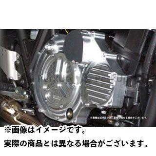 送料無料 コワース ZRX1200ダエグ ドレスアップ・カバー ビレットクラッチカバー(ケミカルポリッシュ)