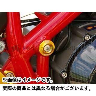 ベビーフェイス Monster S2R モンスターS4R ハイパーモタード その他 フレームキャップ 4pc カラー:シルバー BABYFACE