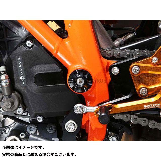 【エントリーで最大P23倍】ベビーフェイス 1290スーパーデュークR フレームキャップ 4pc カラー:ブラック BABYFACE
