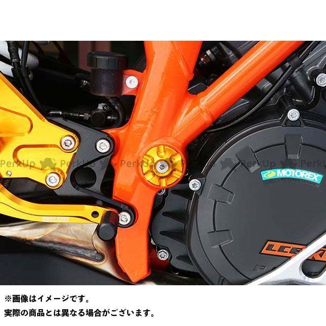 【エントリーで最大P23倍】ベビーフェイス 1290スーパーデュークR フレームキャップ 4pc カラー:ゴールド BABYFACE