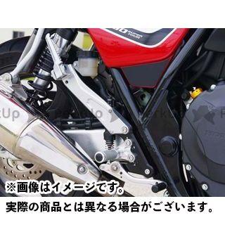 【エントリーで更にP5倍】ベビーフェイス CB400スーパーフォア(CB400SF) タンデムブラケット カラー:シルバー BABYFACE