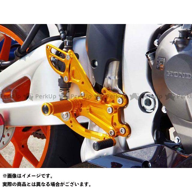 【エントリーで更にP5倍】ベビーフェイス CBR600RR IDEAL バックステップキット カラー:ゴールド BABYFACE