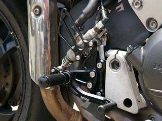 ベビーフェイス VFR800 バックステップ関連パーツ IDEAL バックステップキット ブラック