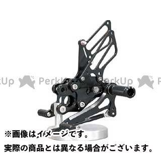 ベビーフェイス ニンジャZX-10R バックステップ関連パーツ IDEAL バックステップキット ブラック