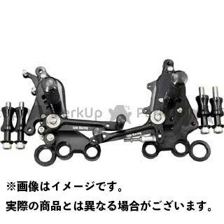 【エントリーで更にP5倍】ベビーフェイス ムルティストラーダ1100 IDEAL バックステップキット カラー:ブラック BABYFACE