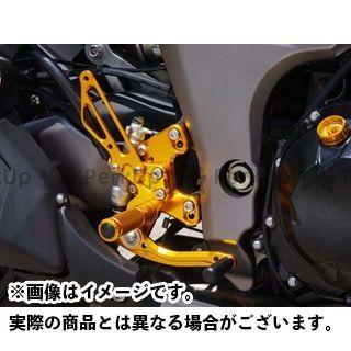 【エントリーで更にP5倍】ベビーフェイス ニンジャ1000・Z1000SX Z1000 バックステップキット カラー:ゴールド BABYFACE