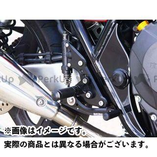 【エントリーで更にP5倍】ベビーフェイス CB400スーパーフォア(CB400SF) バックステップキット カラー:ゴールド BABYFACE