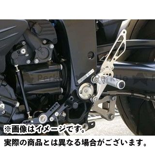 【エントリーで更にP5倍】ベビーフェイス K1200R バックステップキット カラー:シルバー BABYFACE