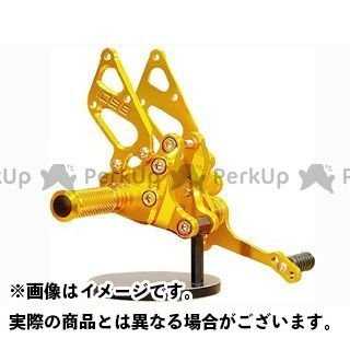 【エントリーで更にP5倍】ベビーフェイス 1098 1198 848 バックステップキット Type1 ロゴ彫り込み無し カラー:ゴールド BABYFACE