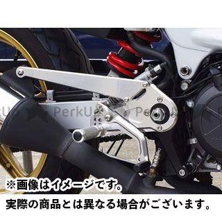 【エントリーで更にP5倍】ベビーフェイス VTR250 バックステップキット カラー:シルバー BABYFACE