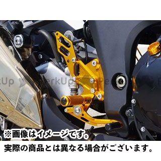 【エントリーで更にP5倍】ベビーフェイス Z1000 バックステップキット 仕様:- カラー:ゴールド BABYFACE