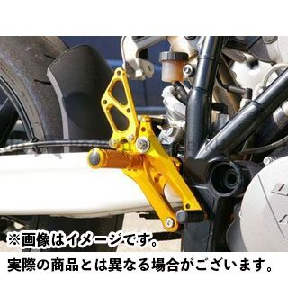 【エントリーで更にP5倍】ベビーフェイス 990スーパーデューク 990スーパーデュークR バックステップキット カラー:ゴールド BABYFACE