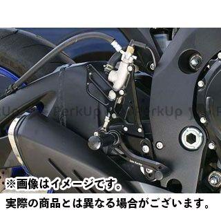 【エントリーで更にP5倍】ベビーフェイス GSX-R600 GSX-R750 バックステップキット カラー:シルバー BABYFACE