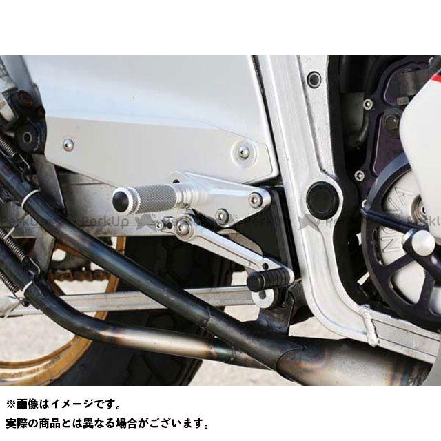 【エントリーで更にP5倍】ベビーフェイス RG400ガンマ RG500ガンマ バックステップキット 仕様:ノーマル カラー:シルバー BABYFACE