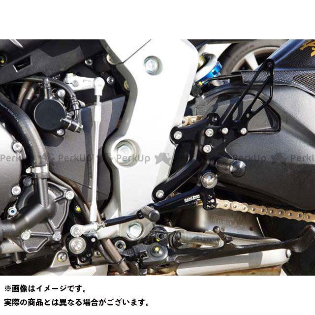 【エントリーで更にP5倍】ベビーフェイス CB1000R バックステップキット カラー:ブラック BABYFACE