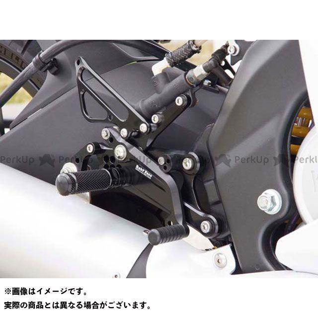 【エントリーで更にP5倍】ベビーフェイス YZF-R125 バックステップキット 仕様:ノーマル カラー:ブラック BABYFACE