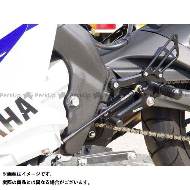 【エントリーで更にP5倍】ベビーフェイス YZF-R125 バックステップキット 仕様:レース カラー:ブラック BABYFACE