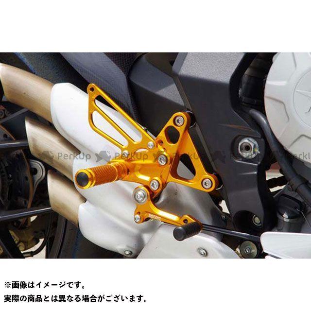 【エントリーで更にP5倍】ベビーフェイス F3 675 バックステップキット 仕様:シフター対応 カラー:ゴールド BABYFACE
