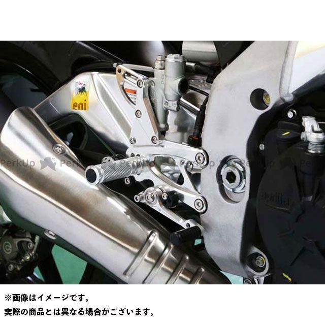【エントリーで更にP5倍】ベビーフェイス RSV4 R APRC トゥオーノV4R APRC バックステップキット 仕様:レース カラー:シルバー BABYFACE