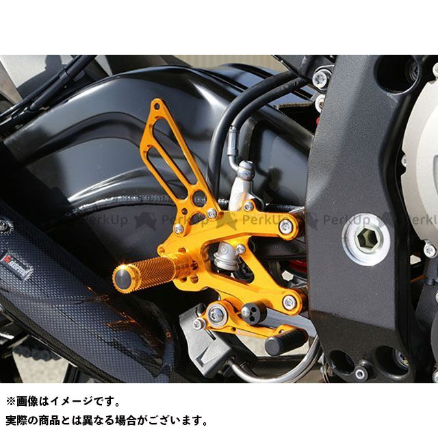 【エントリーで更にP5倍】ベビーフェイス S1000R バックステップキット カラー:シルバー BABYFACE