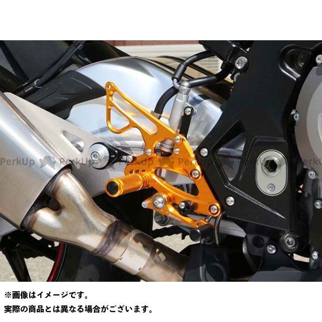 【エントリーで更にP5倍】ベビーフェイス S1000RR バックステップキット カラー:シルバー BABYFACE