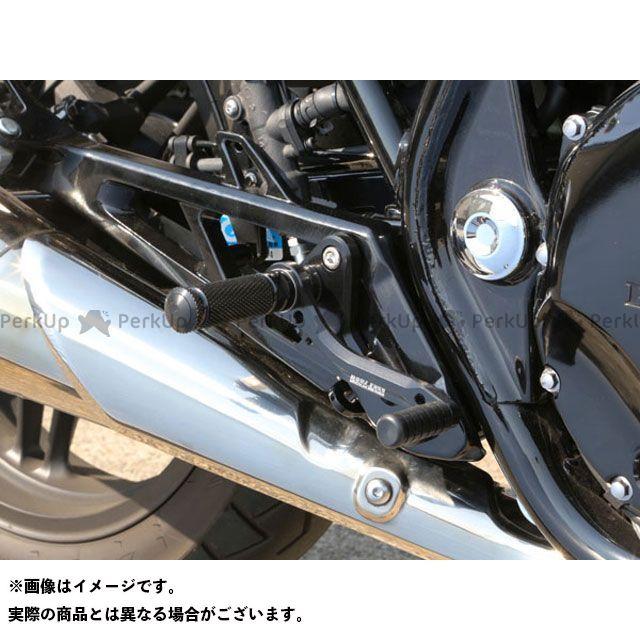【エントリーで更にP5倍】ベビーフェイス CB1100 バックステップキット カラー:ブラック BABYFACE