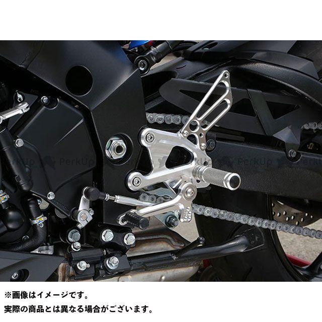 ベビーフェイス GSX-S1000 GSX-S1000F バックステップ関連パーツ バックステップキット 逆 ブラック