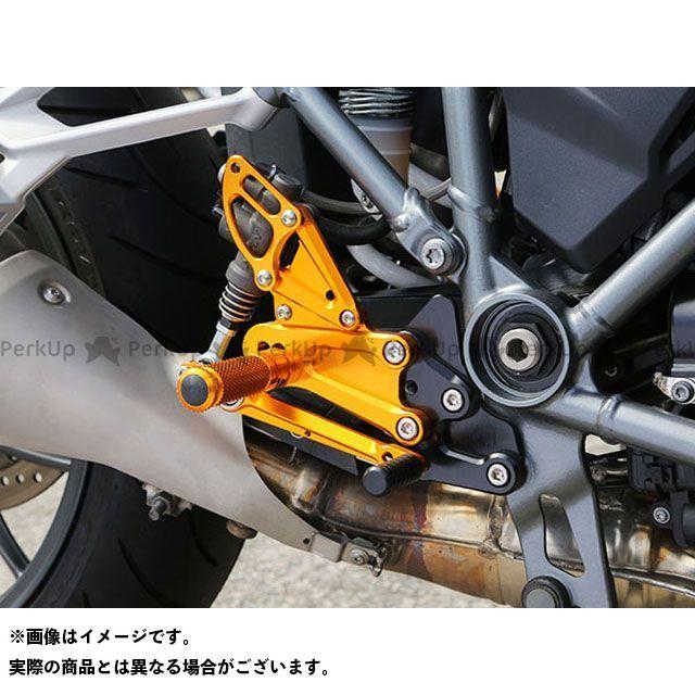 【エントリーで更にP5倍】ベビーフェイス R1200R R1200RS バックステップキット カラー:ゴールド BABYFACE
