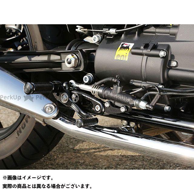 【エントリーで更にP5倍】ベビーフェイス V7 2 レーサー V7 2 ストーン バックステップキット カラー:ブラック BABYFACE