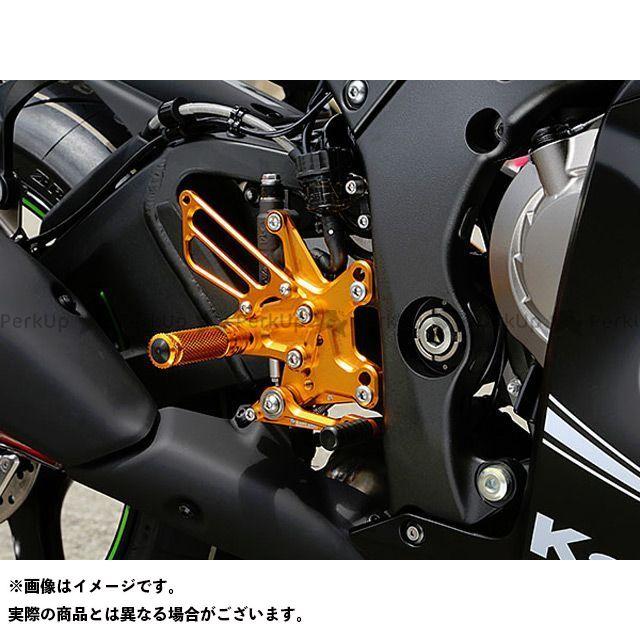 ベビーフェイス ニンジャZX-10R バックステップ関連パーツ バックステップキット ゴールド