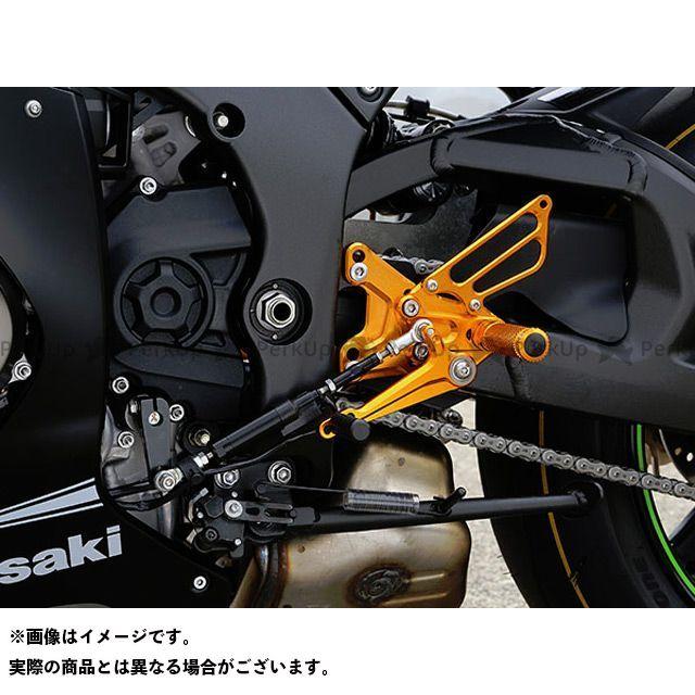ベビーフェイス ニンジャZX-10R バックステップ関連パーツ バックステップキット リバース(逆シフト)モデル ゴールド